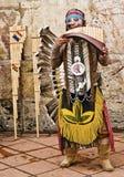 Músico indio andino Imagen de archivo libre de regalías
