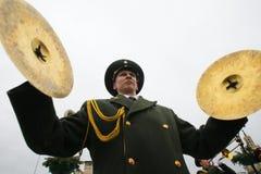 Músico militar Fotografía de archivo libre de regalías