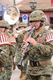 Músico militar Imagens de Stock Royalty Free