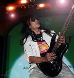 Músico no concerto Foto de Stock Royalty Free