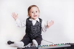 Músico pequeno Fotografia de Stock Royalty Free