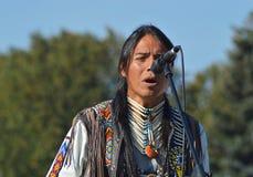 Músico y cantante de Ecuador Fotos de archivo libres de regalías