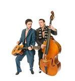 Músicos Fotografia de Stock Royalty Free