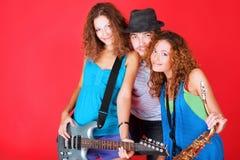 Músicos Foto de Stock