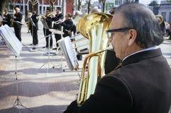 músicos Fotografía de archivo libre de regalías