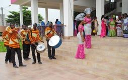 Músicos AFRICANOS Fotografia de Stock Royalty Free