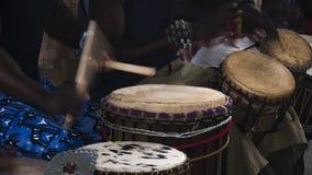 Músicos africanos Imagem de Stock