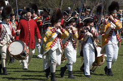 Músicos britânicos do exército Fotografia de Stock