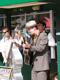 Músicos da rua Foto de Stock Royalty Free
