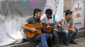 Músicos da rua Imagem de Stock Royalty Free