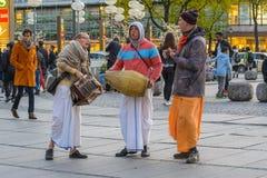 Músicos da rua de Munich Fotografia de Stock Royalty Free