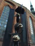 Músicos de Bremen fotografía de archivo