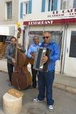Músicos de la calle Fotos de archivo libres de regalías