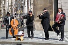 Músicos de la calle Imagenes de archivo