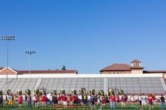 Músicos de la Universidad de California del Sur fotos de archivo libres de regalías