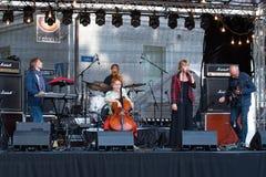 Músicos de MiaMee Fotografia de Stock