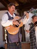 Músicos del festival del renacimiento de Ohio foto de archivo
