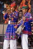 Músicos indianos Fotografia de Stock Royalty Free