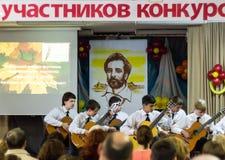 Músicos jovenes Fotografía de archivo libre de regalías
