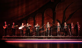 Músicos mexicanos Imágenes de archivo libres de regalías