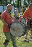 Músicos no identificados Fotos de archivo libres de regalías