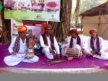 Músicos populares indios Fotografía de archivo libre de regalías
