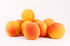 mûr frais d'abricots Images libres de droits