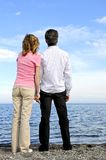 Mûrissez les couples romantiques photographie stock