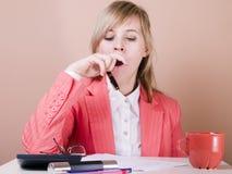 Müde Frauen Lizenzfreies Stockfoto