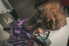 Müder junger Modedesigner Lizenzfreie Stockfotografie