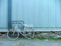 Müdes Fahrrad stockfotos