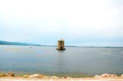 Mühle auf dem Wasser Italien stockbilder
