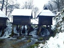 Mühle auf Wasser Lizenzfreies Stockbild