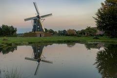 Mühle nannte das Bataaf in Winterswijk in HDR Lizenzfreies Stockfoto