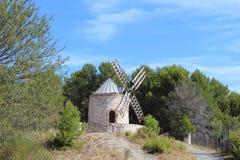 Mühle in Provence stockfoto