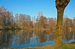 Mühle-Teich Stockbilder