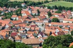 Mühlenburg mitt Arkivbild