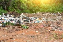 Müllkippe Stockfoto