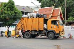 Müllwagen Stockbild