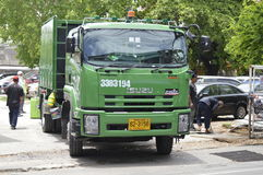 Müllwagen Lizenzfreie Stockfotografie