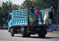 Müllwagen von Nongjom-Subdistrict Verwaltungs-Organizatio Stockfoto