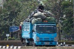 Müllwagen von Nongjom-Subdistrict Verwaltungs-Organizatio Lizenzfreies Stockfoto