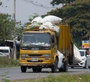 Müllwagen von Nongjom-Subdistrict Verwaltungs-Organizatio Stockbild
