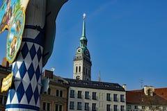 München ändern Peter Viktualienmarkt Lizenzfreies Stockfoto