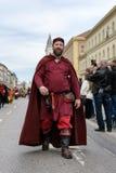 MÜNCHEN, BAYERN, DEUTSCHLAND - 11. MÄRZ 2018: Leute in der Kleidung von Lizenzfreies Stockfoto