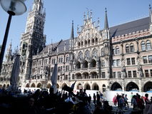 München, Bayern, Germany. Beautiful architecture in Germany royalty free stock photos