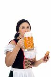 München-Bierfestival lizenzfreies stockbild