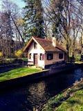 München deutchland sunny house Stock Image