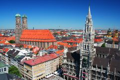 München in Deutschland lizenzfreie stockfotos
