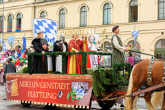 München, Deutschland, am 18. September 2016: Die traditionelle Kostüm-Parade während Octoberfest 2016 in München Stockfoto